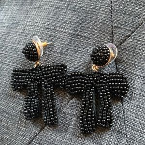 NWOT Baublebar Sachi Bow Drop Earrings